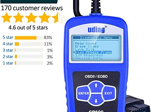 udiag obd2 diagnoseger t auto scanner ausleseger t f r. Black Bedroom Furniture Sets. Home Design Ideas