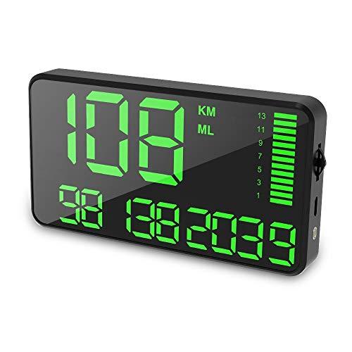 gps tachometer mit usb ladekopf und bergeschwindigkeits alarm f r alle fahrzeuge eyoal. Black Bedroom Furniture Sets. Home Design Ideas